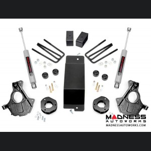 "Chevy Silverado 1500 4WD Suspension Lift Kit w/ KNUCKLE KIT 4WD - 3.5"" Lift - Cast Steel"